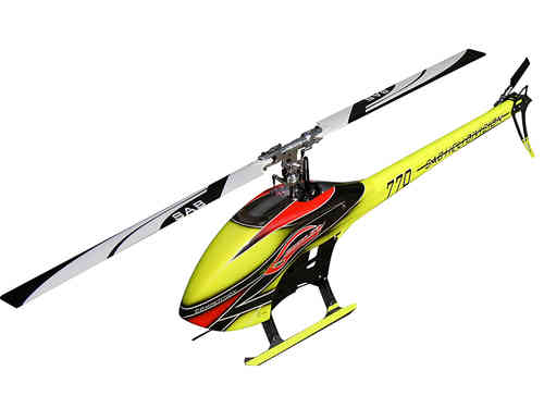 SAB GOBLIN 770 COMPETITION YELLOW/ORANGE (With main and tail blades) [SG773]