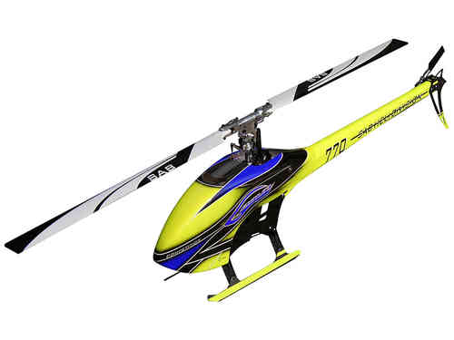 SAB GOBLIN 770 COMPETITION YELLOW/BLUE (With main and tail blades) [SG774]