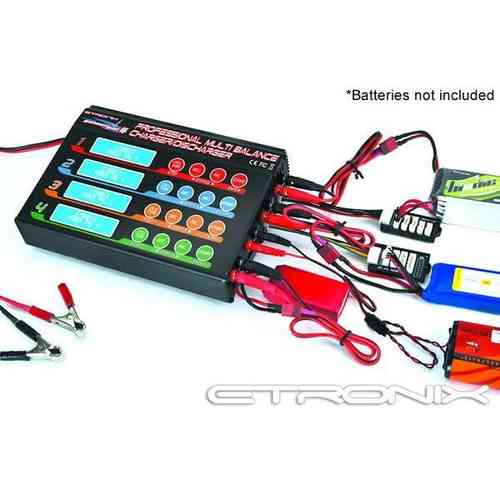 Etronix Powerpal 80W 4 Multi Output Performance Charger ET0210-8