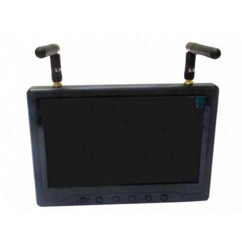 Black Pearl 7 Inch FPV Screen with Integrated Battery 4201059