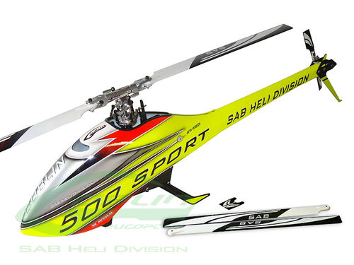 GOBLIN 500 SPORT YELLOW/RED