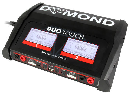 DYMOND Duo Touch AC/DC (2x 200 Watt) Charger
